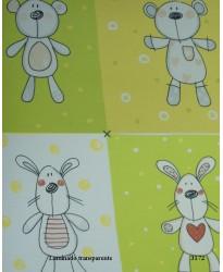 INFANTIL LAPINS VERDE/AMARILLO