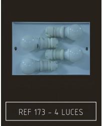 Placa 4 luces