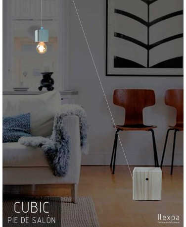 Lámpara Pie de Salón Cubic