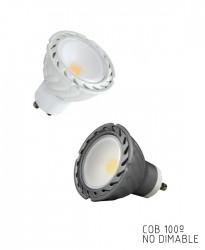 GU10 COB LED 100º