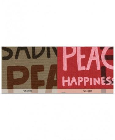 PEACE MARRON