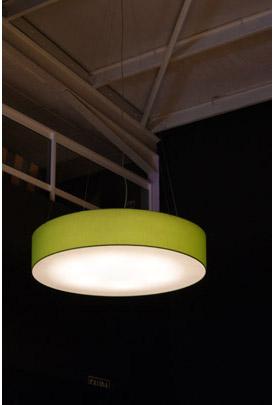 Iluminación exposición de mobiliario