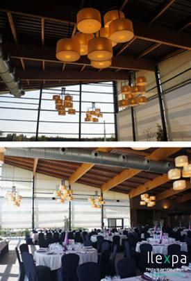 Iluminación Salón de banquetes