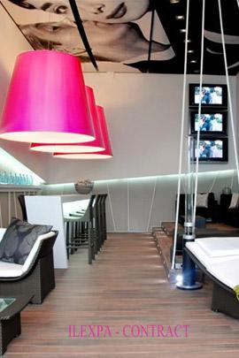 Iluminación tienda muebles