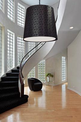 Lámpara Holl en vestíbulo