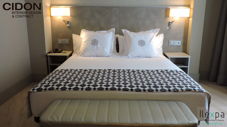 Proyecto hotel con apliques led ilexpa - Apliques habitacion ...