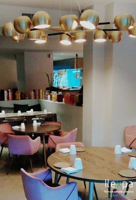Proyecto Iluminación Bélgica Restaurante