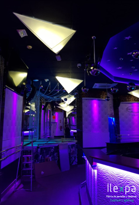 Proyecto Iluminación Club Pole Dance