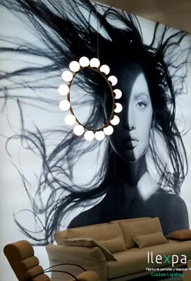 Proyecto Iluminación Stand Feria de Milán