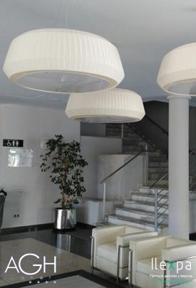 Proyecto Iluminación Hall Hotel AGH Canet d'en Berenguer