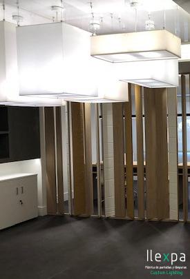 Proyecto Iluminación Oficinas en Getafe