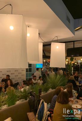 Proyecto iluminación Restaurante Ammos en Jávea