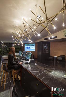 Proyecto Iluminación Sport Club en Madrid