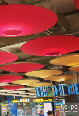 Proyecto Iluminación Terminal T4 Barajas