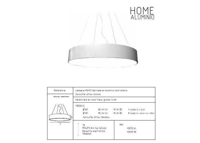 Home aluminio