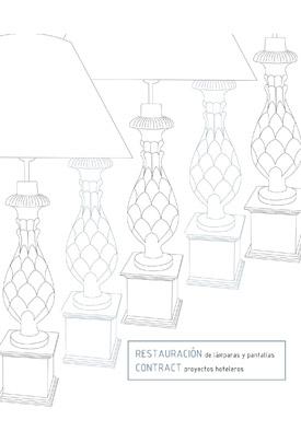 Proyecto Restauración lamparas hotel Marbella