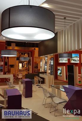 Proyecto Iluminación Stand Bauhaus SIMA Madrid